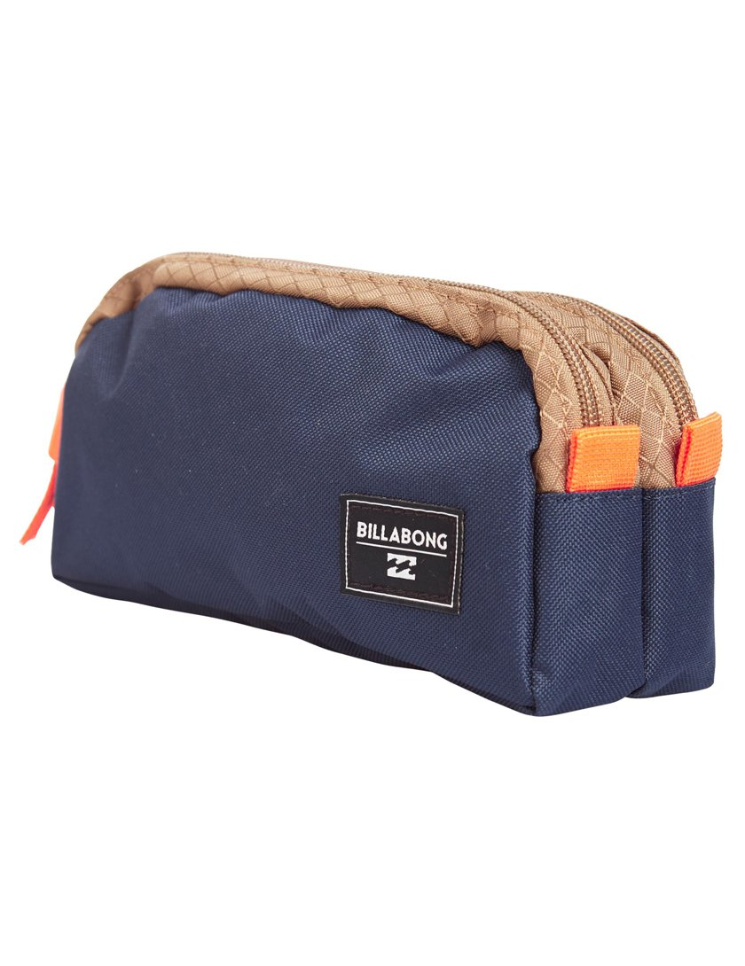 Billabong Repeat Pencil Case - Indigo: Amazon.es: Oficina y ...