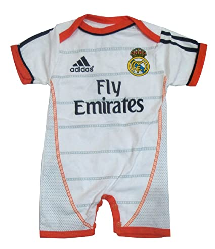 Body mameluco Jumpsuit Real Madrid Home Ronaldo 6-9 Meses ...
