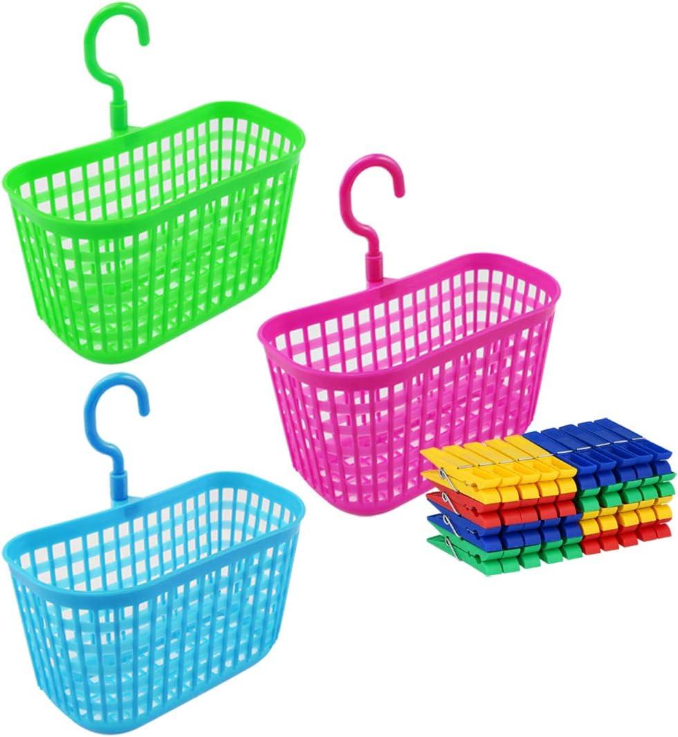 COM-FOUR® 43-delige set wasknijpers