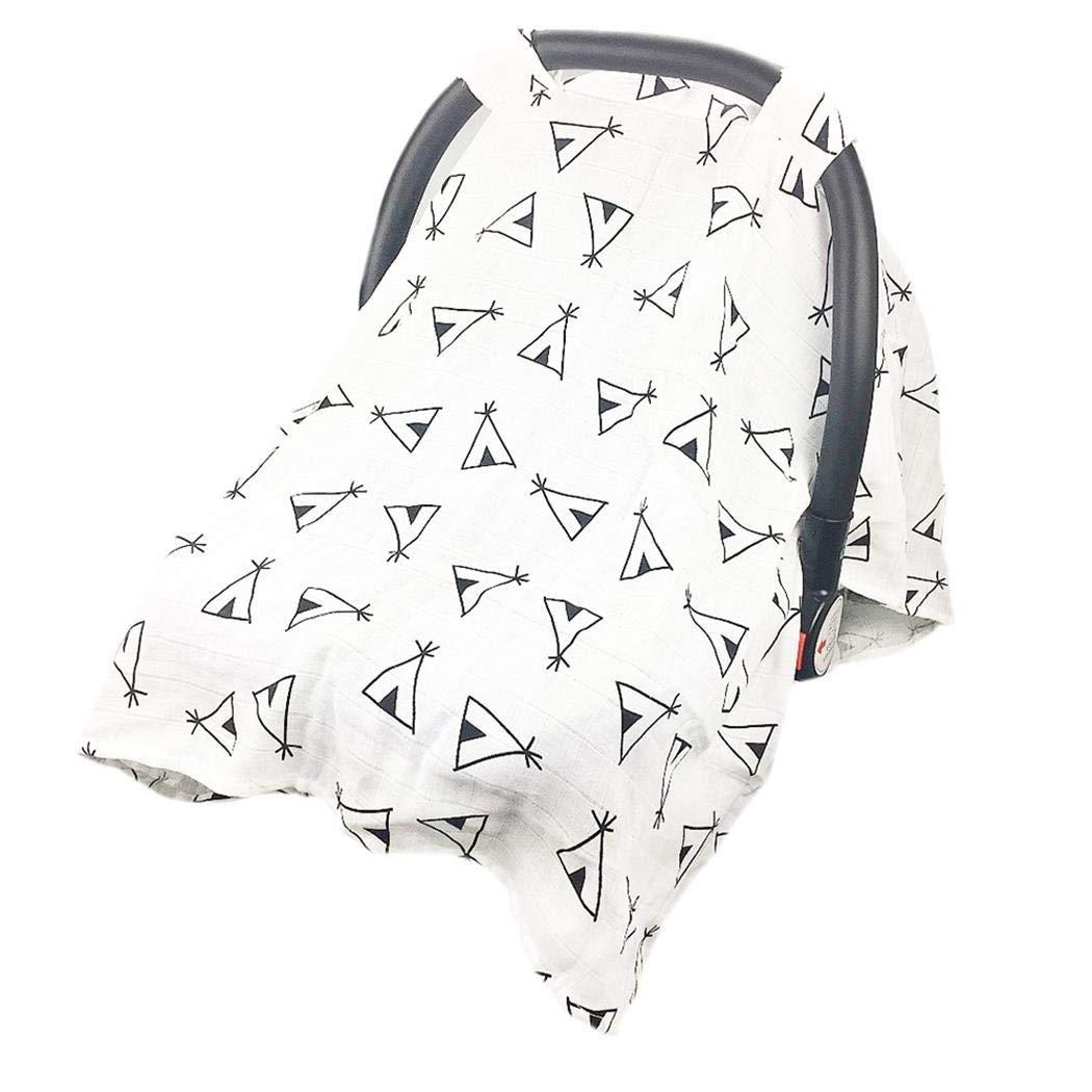 Haxisi Nueva cubierta de asiento de carro de enfermer/ía ligera multifuncional durable respirable para el beb/é Almacenamiento y organizaci/ón 114x90cm