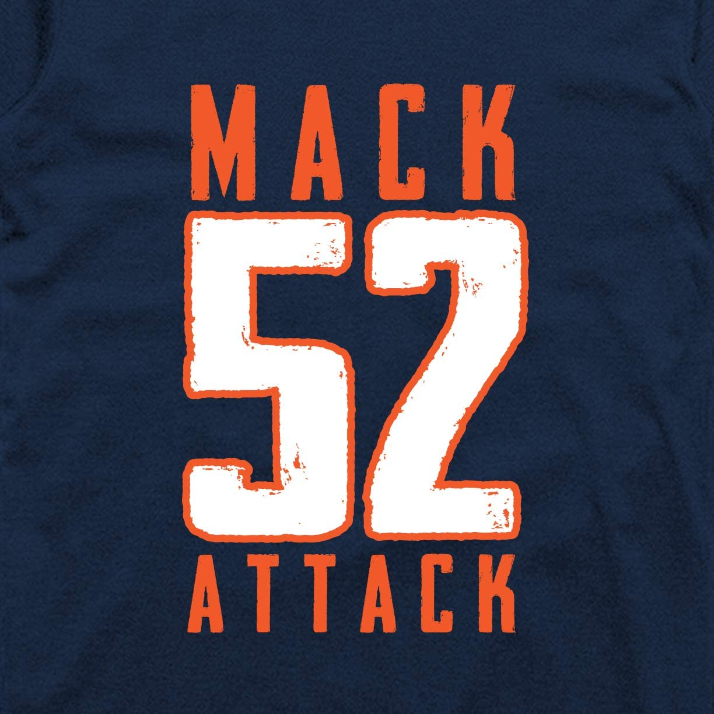 INKpressionists Nothing Hits Like a Mack 52 Football Fans Classic T-Shirt
