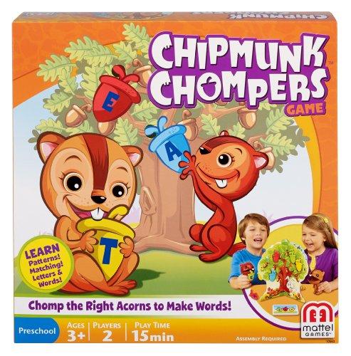 [Chipmunk Chomper Board Game] (Hungry Hippo Costumes)