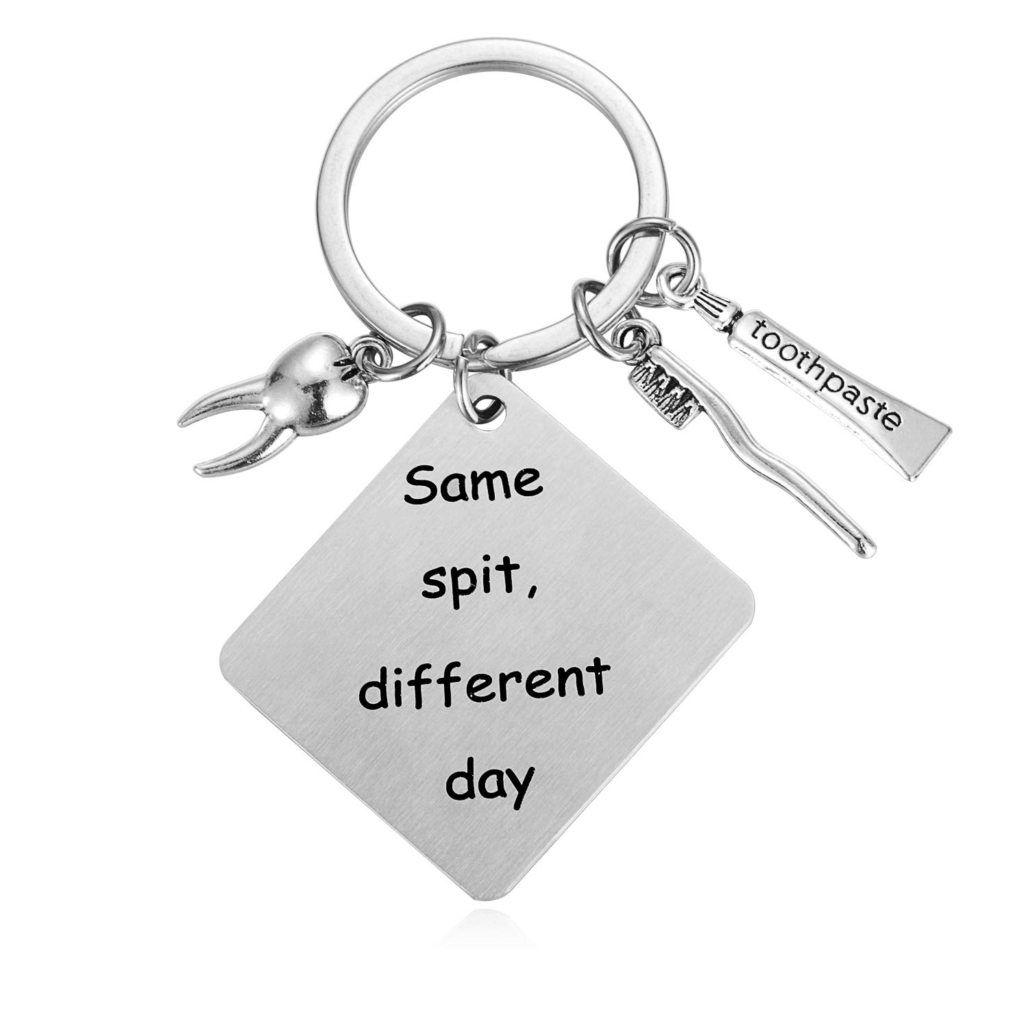 This gifts for dental hygienist is funny and functional s different day Dentist humor:Same spit Put a smile on the face of the dental assistant or dentist who make your smile more pearly white