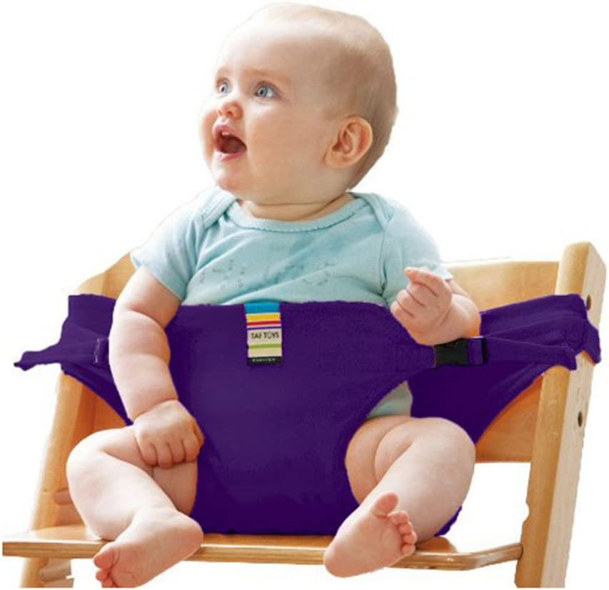 Easy to Use Safety Strap for Stroller High Chair to Avoid Baby Climb Out Adjustable Sturdy Chair Dining Chair Seat Belt Baby Harness