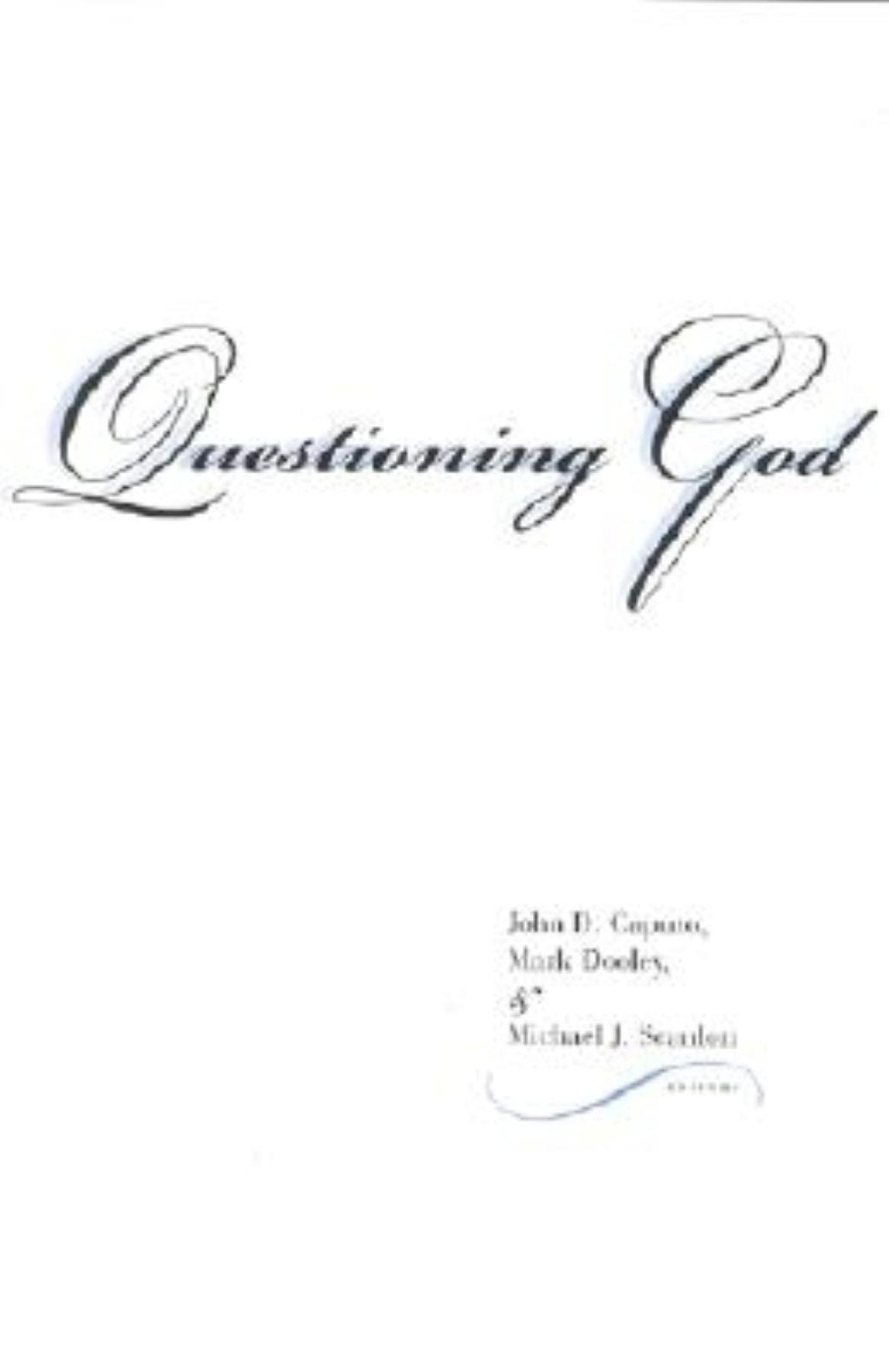 questioning a belief