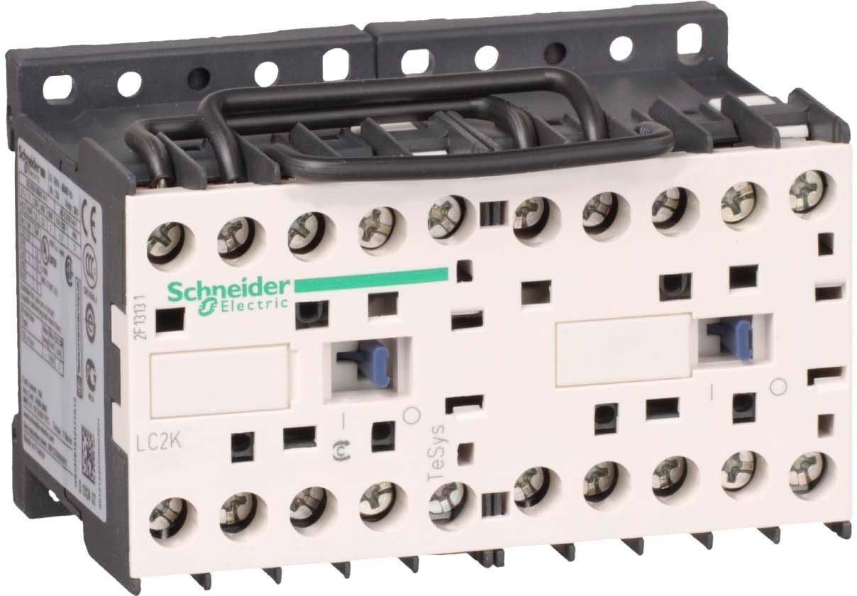 Schneider Electric LC2K0601B7 TeSys K Contactor Inversor 3P AC-3, 440 V 6 A, Bobina 24 V CA