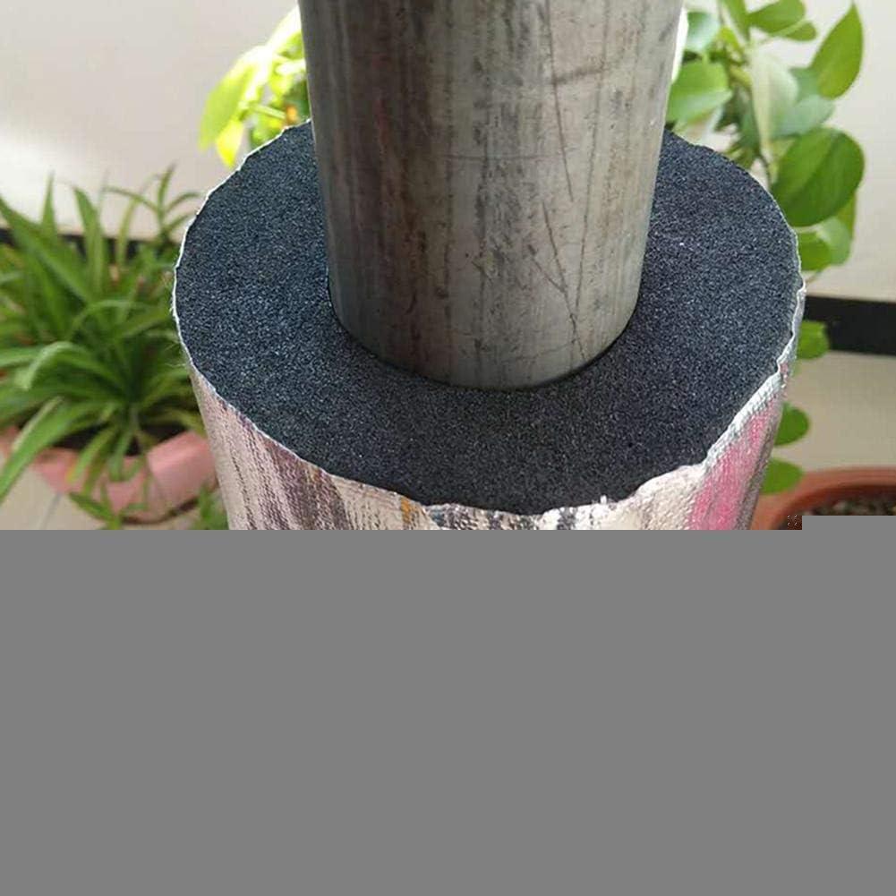 perfecti Rohrisolierung Selbstklebend Insul Schlauch Schaum 10mm D/ämmmatten Rohrisolierung F/ür Typ 50//75//110