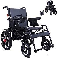 XINTONGDA Silla de Ruedas eléctrica Plegable para discapacitados