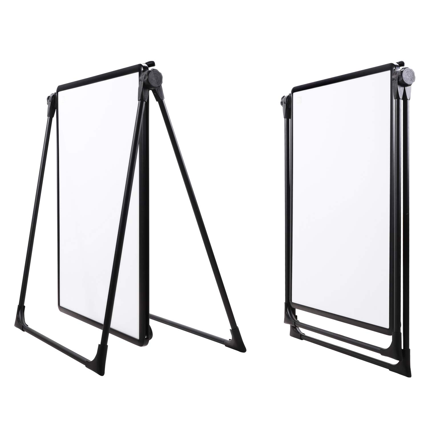 AmazonBasics Dry Erase Easel White Board, 28 x 36 Inch, Fold to Table