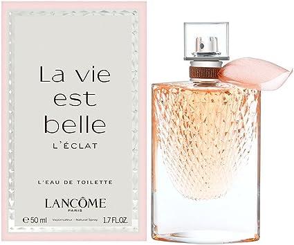 Lancôme La Vie Est Belle L'Éclat, Agua de tocador para mujeres 50 ml.