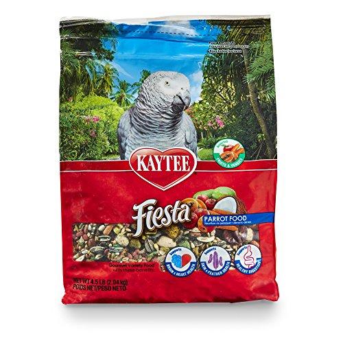 Kaytee Fiesta Parrot Food 4.5 lb (Parrot Food Brown)