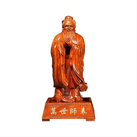 LKXZYX Boda Decoracion Figuras de Grandes Salon candelabros Jardin Exterior Talla Confucio Carácter Ídolo Decoración Cuidado del hogar Confucio: Amazon.es: Hogar