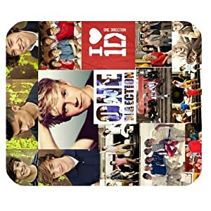 One Direction Band Personalized Custom Gaming Mousepad Rectangle Mouse Mat / Pad Office Accessory And Gift Design-LL1306 by mcsharks