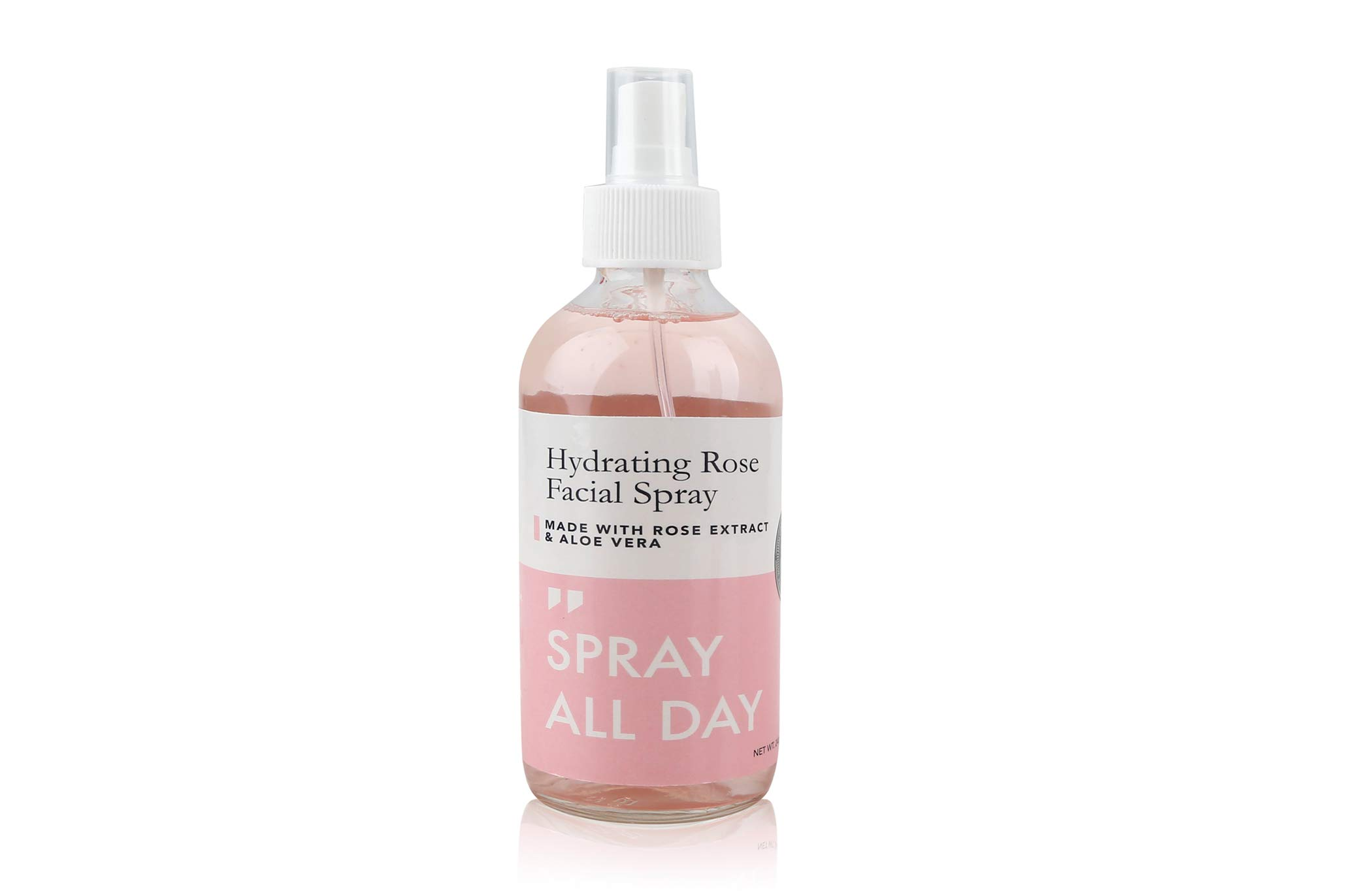 Grace & Stella Co. Rose Skin Collection   Rose Water Facial Spray Mist (240ml) and/or Rose Quartz Jade Roller Gua Sha (Rose Water Spray) by Grace & Stella
