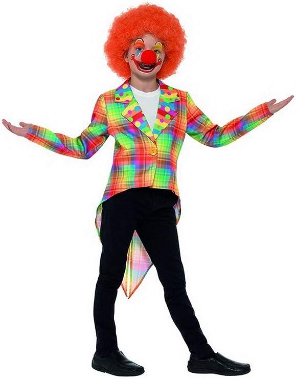 costumebakery – Disfraz de Payaso de Circo para niña, Chaqueta de ...