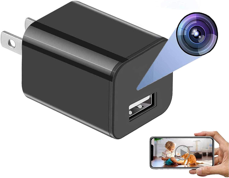 Spy Cameras Bathroom Spy Camera Wireless Hidden WiFi Charger Camera with Remote View Hidden Camera Charger Spy Camera Charger Mini Camera WiFi Small Wireless Full Hd 1080p Video Camera