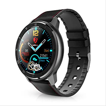 SMSTG Smart Watch Full Touch Screen Heart Rate Blood Pressure ...