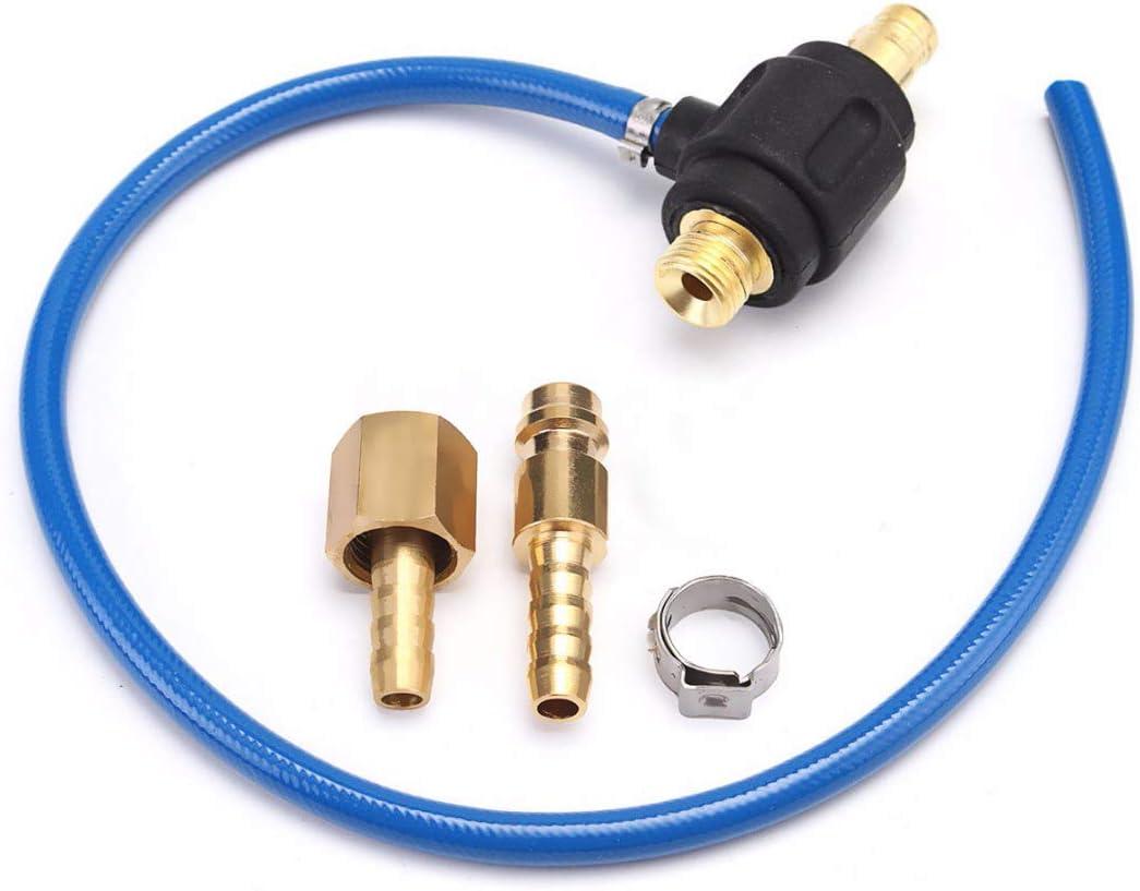 Sothat Tig Conector De Adaptador De Gas De Soldadura De Energ/ía 35-50 Macho M16 M10 Con 9Mm Conexi/ón R/ápida Para Wp 17 18 26 Antorcha De Soldadura