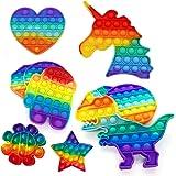 Brinquedo Pop It Fidget Colorido Anti-Stress Sensorial Importado Entrega Imediata (Unicórnio)