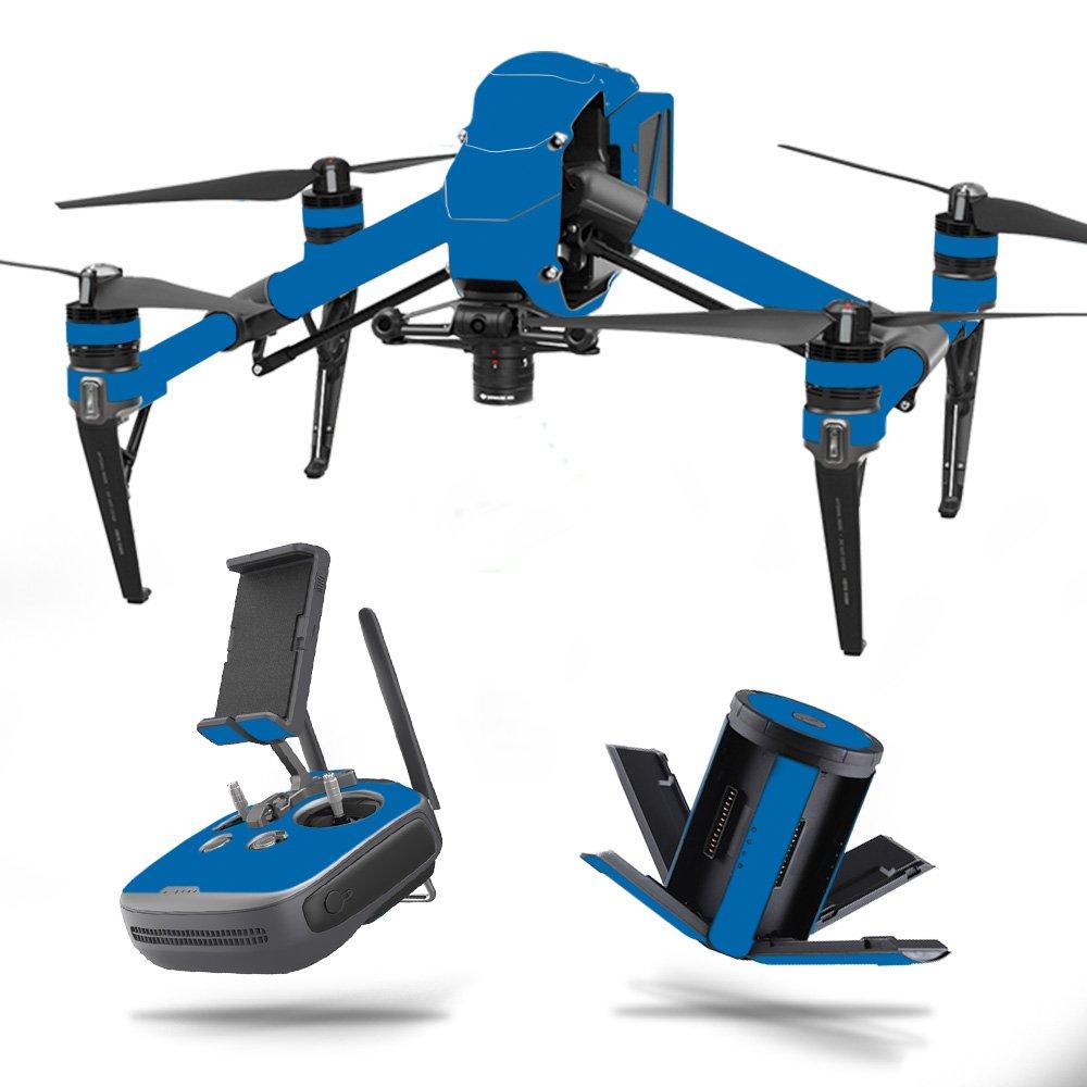 MightySkins 2 スキンデカールラップ DJIステッカー保護カバー 100種類のカラーオプションに対応 DJI Inspire 2 ブルー Inspire DJINSP2-Solid B07752WTQS Blue DJI Inspire 2 ブルー B07752WTQS, みの焼 みの吉:4fab9e29 --- harrow-unison.org.uk