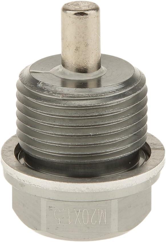 Blau Almencla M12X1.25 M14X1.5 M20 Magnetische /Ölwanne Eloxiert Ablassschraube Garage Tool