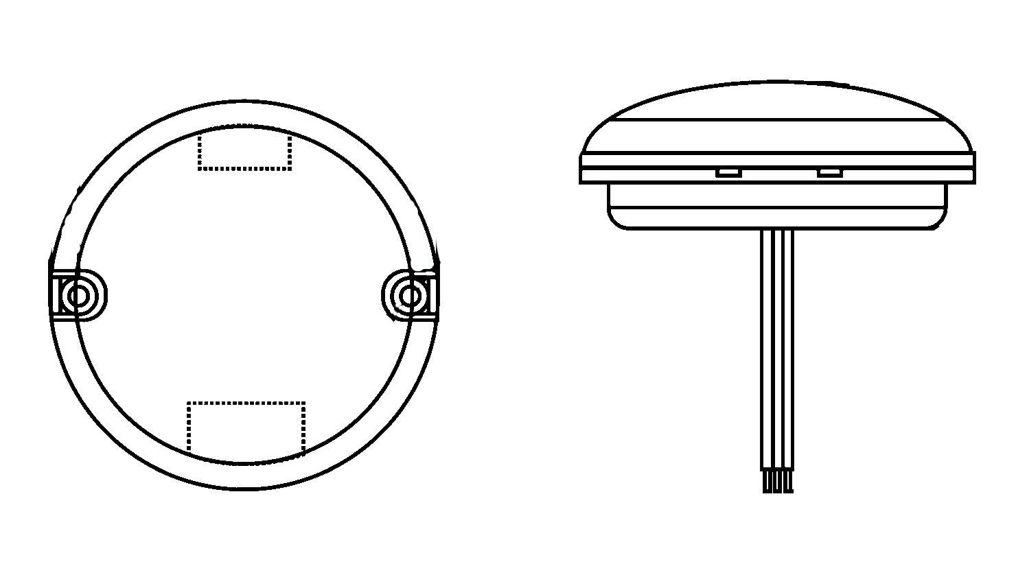 HELLA 1G0 357 000-001 Arbeitsscheinwerfer HELLA VALUEFIT für Nahfeldausleuchtung, 600 Lumen, Anbau, oval, LED, 12V/24V Hella KGaA Hueck & Co.