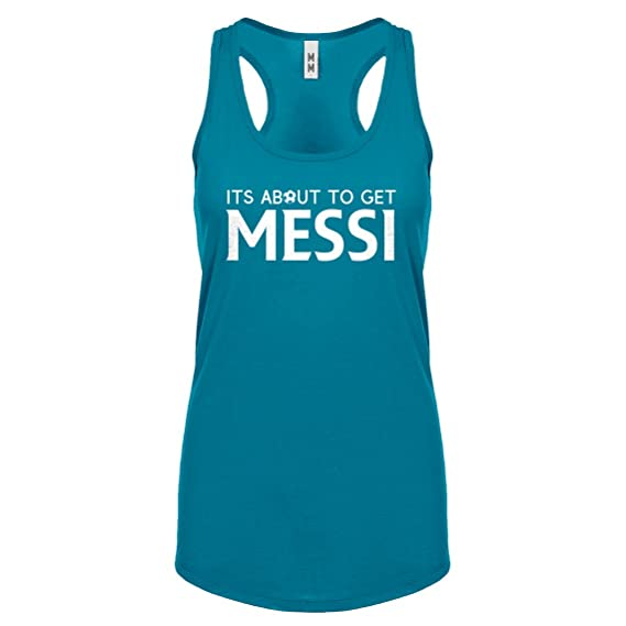 Indica Plateau Obtener Messi Para Mujer Scoop Sin Mangas - Azul -
