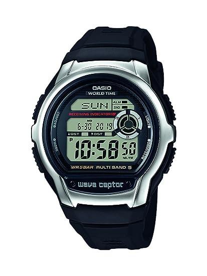 Casio Reloj Digital para Hombre de Cuarzo con Correa en Resina WV-M60-1AER