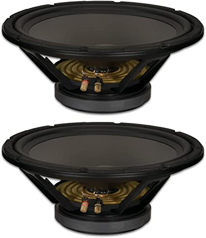 """8/"""" Subwoofer Speaker Replacement 8 Ohm Home Audio Or Dj Bass Driver Woofer New"""