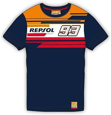 REPSOL Camiseta Dual Marquez 93 Niño: Amazon.es: Ropa y accesorios