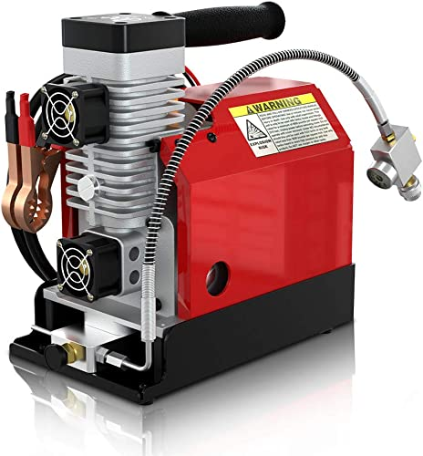 GX Portable PCP Air Compressor,4500Psi 30Mpa,Oil-Free,Powered