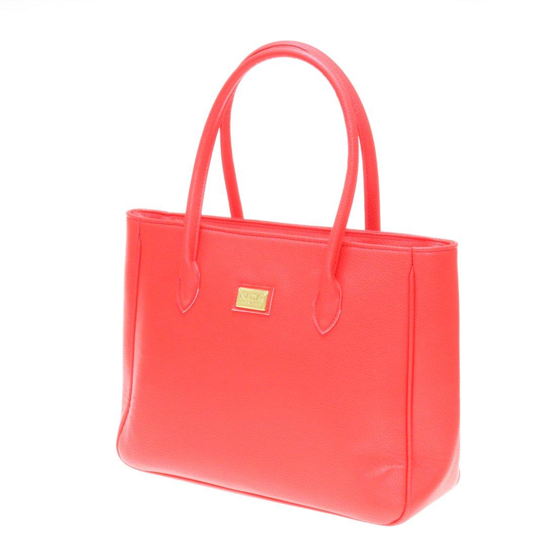 Twinya Women's PU Leather Handbags Tote Hobo Beautiful Top Handle Satchel Medium Red