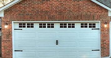Paneles Magnéticos Para Decoración De Puertas De Garaje De Coche Falsas Ventanas Falsas Color Negro 2 Kit De Garaje 32 Paneles Pequeños Home Improvement