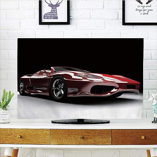 iprint Funda para televisor LCD, diseño Abstracto con Coches ...