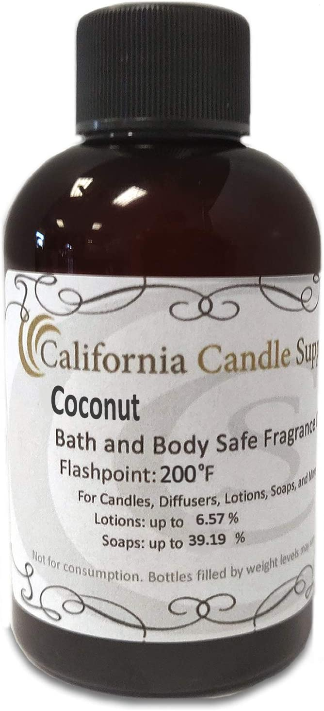 Coconut Fragrance Oil 4oz Candles and Soap