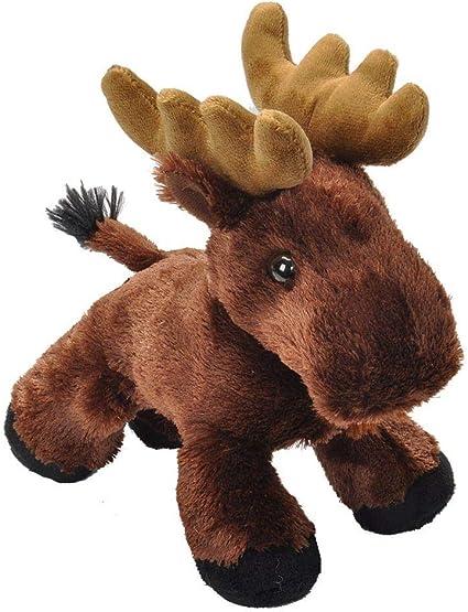 Wild Republic Stuffed Animal, Plush Toy, Gifts for Kids Toy, Moose Plush, HugEms 7