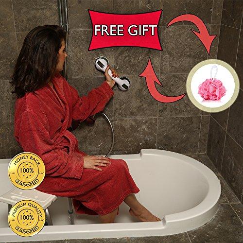 Grab Bar by Dr. Maya – Bath Support with Free Sponge Shower ...