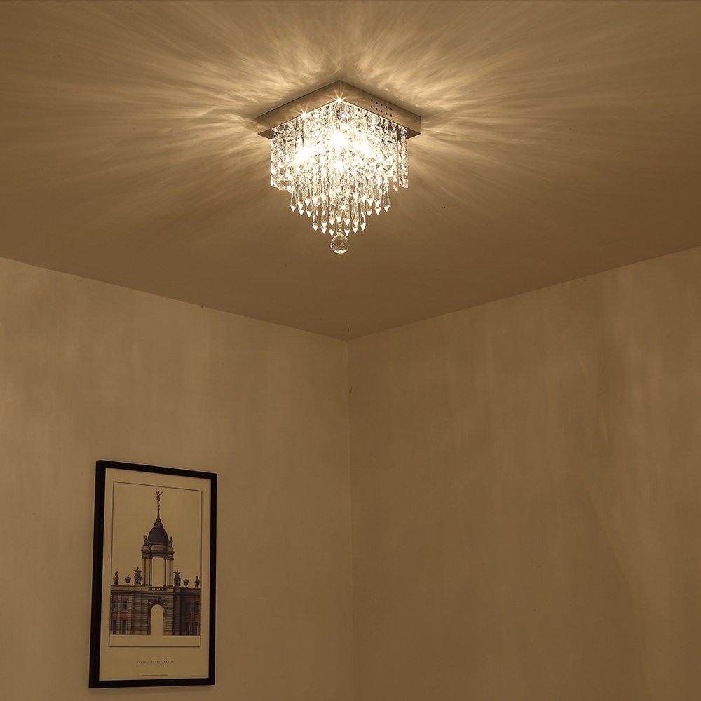 Lightess Flush Mount Ceiling Light 4 Light Mini