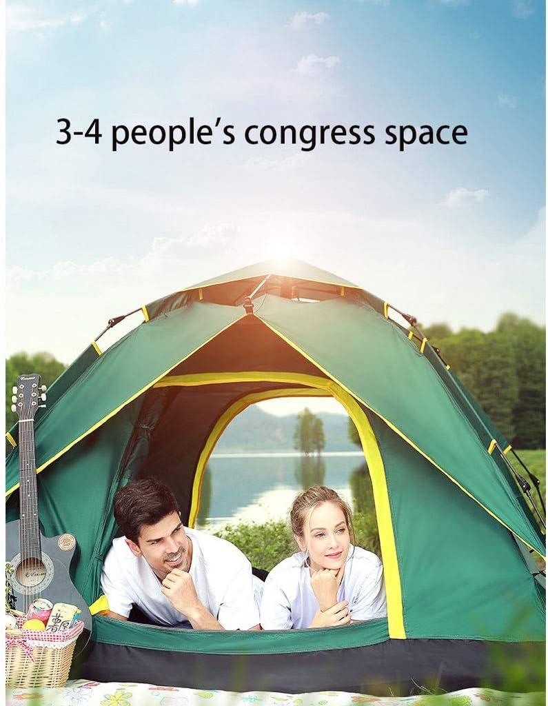 LSZ Tienda al Aire Libre Completa Tienda automática for 2 Personas 3-4 Personas al Aire Libre Familia Tienda de campaña Tiendas de campaña (Color : C) A