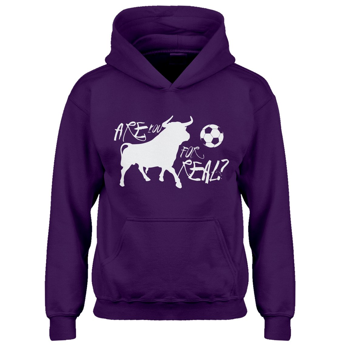 Indica Plateau Youth are You for Real Kids Hoodie