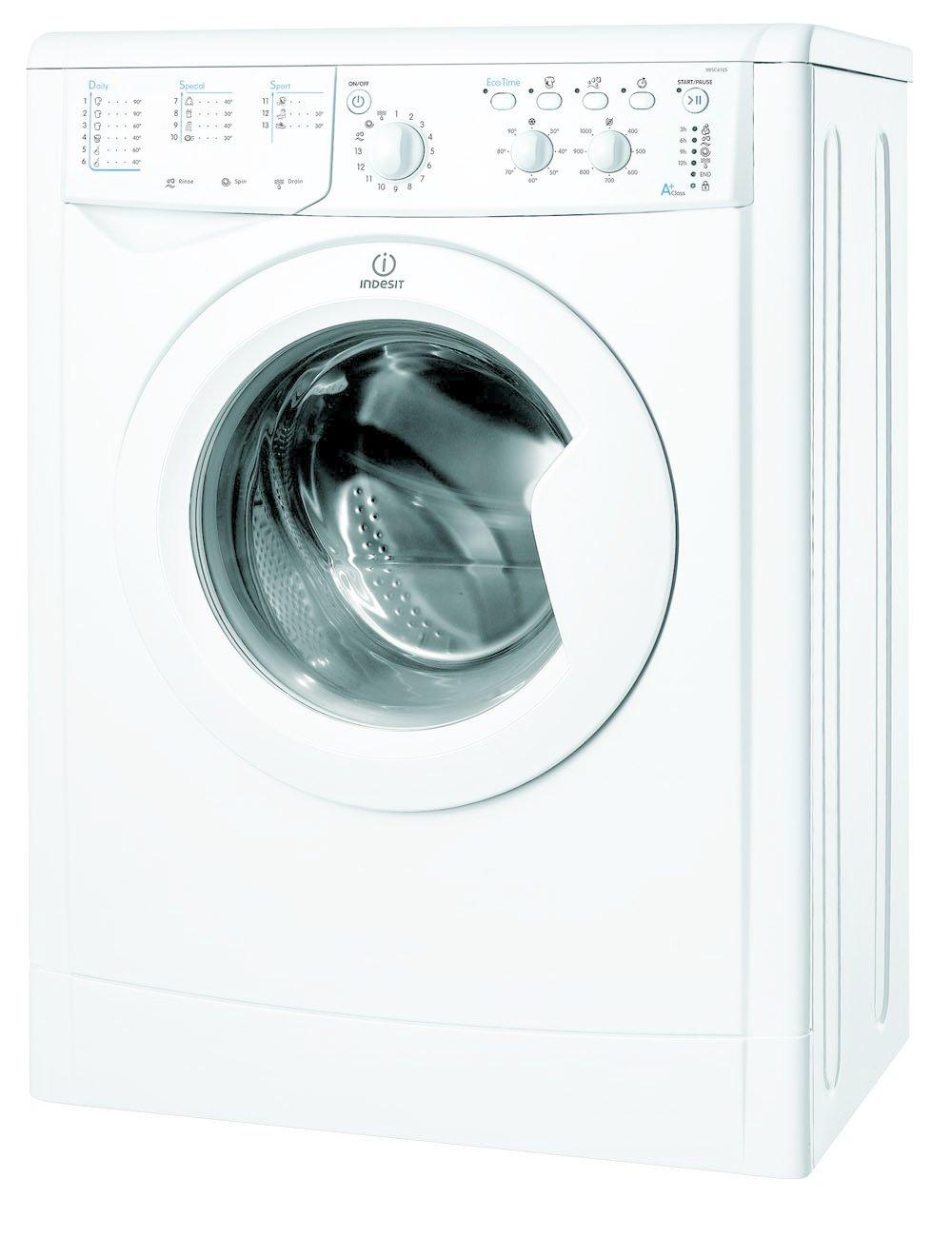 Indesit IWSC 4105 Independiente Carga superior 4.5kg 1000RPM A+ ...