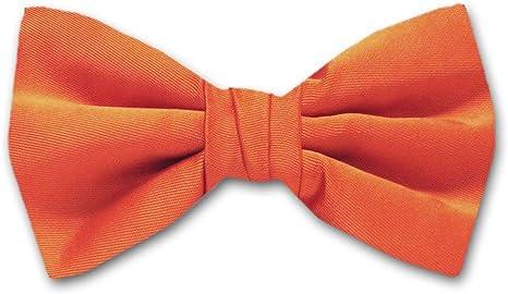 Coral Mens Paisley Pre-Tied Bow Tie