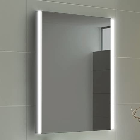 Soak Eleganter Led Badspiegel Lichtspiegel Für Das Badezimmer 50 X 70 Cm Einfache Montage