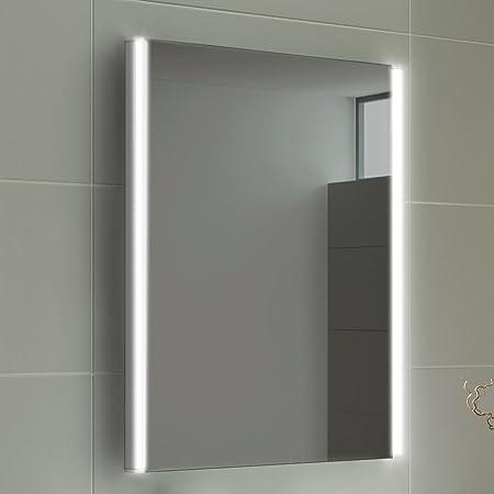 Ibathuk 500 x 700 mm modern illuminated battery led light bathroom ibathuk 500 x 700 mm modern illuminated battery led light bathroom mirror mc158 mozeypictures Choice Image