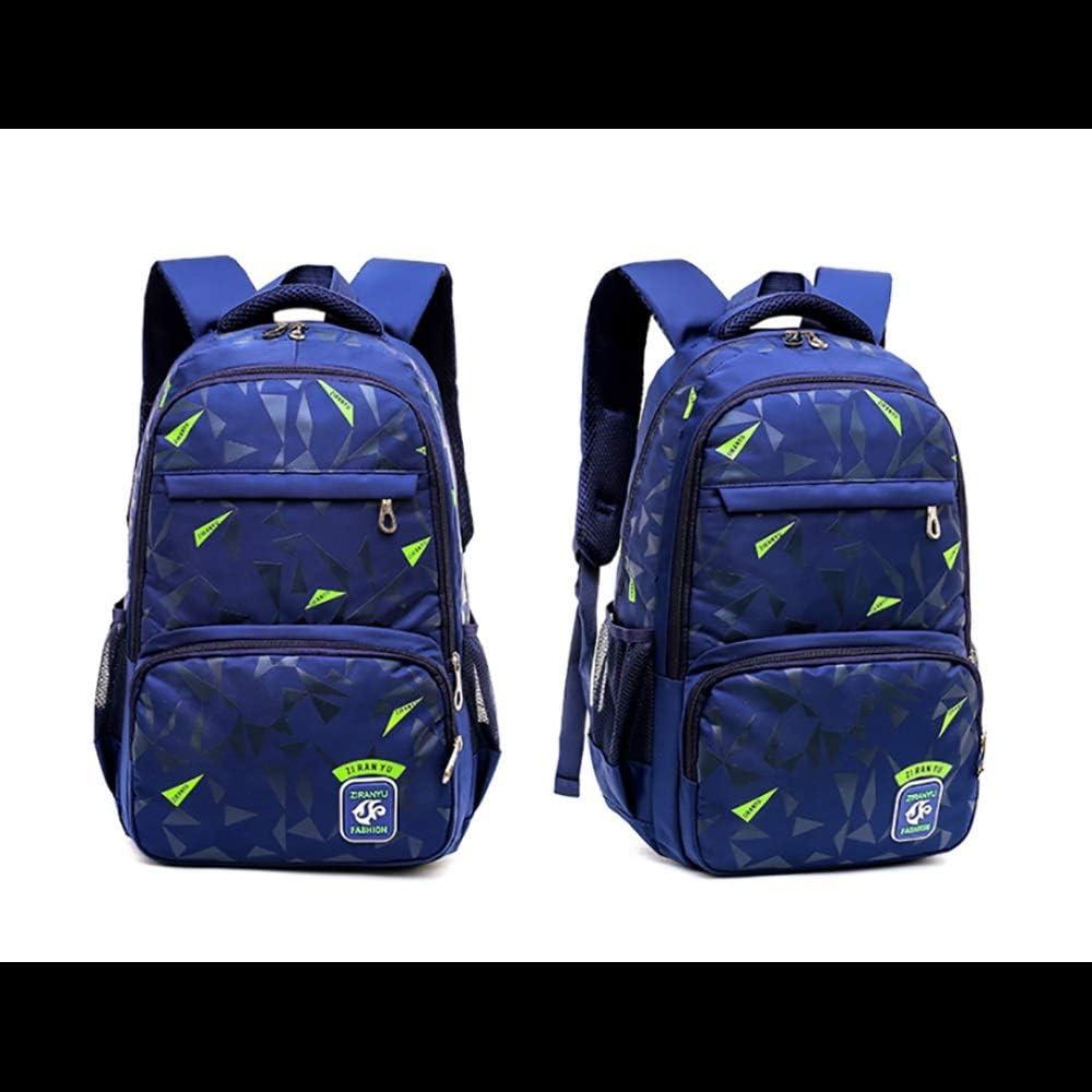 Zhao Xiemao Kids Schoolbag Schoolbags for Children Childrens Shoulder Bag Korean Boy Backpack Shoulder Bag for Boys Girls Color : Blue, Size : Free Size