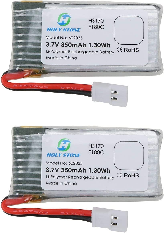 Baterias 3.7V 350mAh Lipo Holy Stone HS170,HS170C,F180W,F180