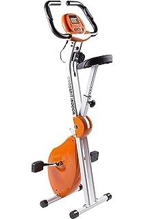 Bicicleta Estática Plegable CrossFit con Chasis Reforzado de Doble Cuerpo | Hasta 110Kg | Máximo Ahorro