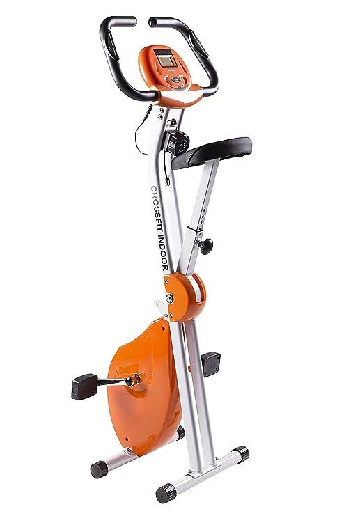 Bicicleta Estática Plegable CrossFit con Chasis Reforzado de Doble ...