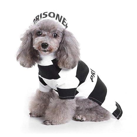 WINNER POP Prisionero de Halloween Ropa para Mascotas - Perro de ...
