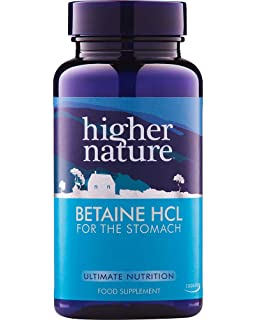 Higher Nature Betaine Hcl Capsules Pack of 90